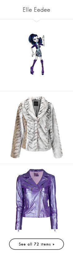 """""""Elle Eedee"""" by darklinghatter ❤ liked on Polyvore featuring monster high, outerwear, jackets, fur, long sleeve jacket, leopard print jacket, cocktail jackets, leopard print faux fur jacket, faux fur jacket and tops"""