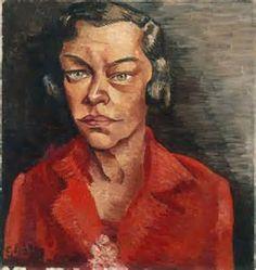 1927 portret van toneelspeelster (Tilla Durieux) Stedelijk van Abbemuseum, Eindhoven