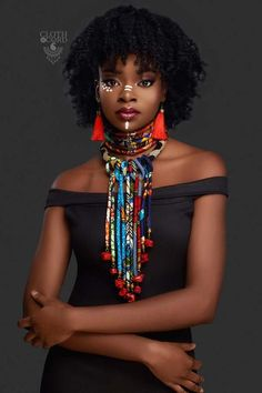 black women beautiful in beach African Tribal Makeup, African Beauty, African Fashion, Black Women Art, Beautiful Black Women, Black Girls, Beautiful Eyes, Beautiful Pictures, African Attire