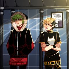 Команда CTRL+banda(комиксы от Z-T00N(Z-Doodler))