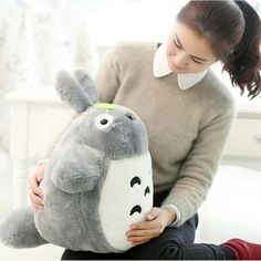 Hot Sale 23'' 60CM Famous Cartoon Totoro Plush Toys Soft Stuffed Toys Brinquedos Dolls High Quality Dolls Factory Price-in Stuffed & Plush Animals from Toys & Hobbies on Aliexpress.com | Alibaba Group