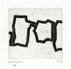 Eduardo Chillida - Kate II, 1972, Etching and...