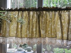 country french curtains | French Country Floral Rose Cafe Kitchen Curtain Valance 008 | eBay