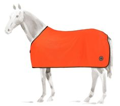"""Horse rug in 100% cotton, lined in 100% polyester microfibre, chest fastening with chrome-plated metallic hook buckle and Velcro® flap, """"Hermès Sellier"""" Clou de Selle badge, Red-lead/Chocolate colour, size 145"""