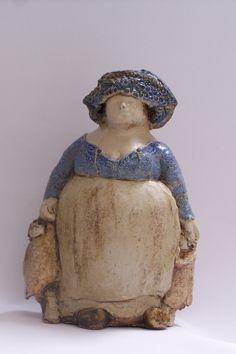 Beeld van Nel Rood - www.wadway.nl voor meer beelden van keramiek en klei ;)