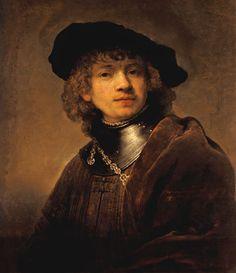Rembrandt est né le 15 juillet 1606, fils d'un munier des Pays-Bas. Il suivit l'école latine dans sa ville et obtint son diplôme entre 1621 und 1623, avec le peintre Swanenburgh comme professeur. Ces années d'études furent suivies d'un séjour de six mois dans l'atelier de Pieter Lastman à Amsterdam, qui le prit d'ailleurs comme édutiant. L'année 1625, il rentra à Leiden, aux Pays-Bas, et ouvrit son propre atelier. Six années plus tard, il déménagea à Amsterdam et épousa en 1634 Saskia van…