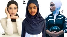 Hijab And Sports  1. Capsters  2. Friniggi Sports  3. ResportOn