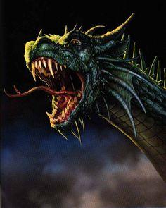 Angry Dragon Head | Fantasy Phreek: Dragons | Pinterest | Dragon