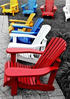 Muskoka Chair for an enjoyable pause!