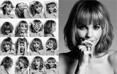 Facial expressions and emotions. Examples posing for portrait photography (9 photos)