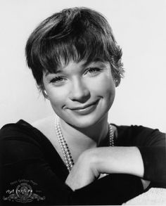 "Shirley MacLaine in ""The Apartment"", 1960. She isn't a Floral Spring, but he said I was reminiscent of her simple chicness in the 50s."