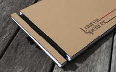 Handmade Portfolio by Lauren Spencer, via Behance