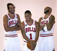 These Three Men Make My Heart Sing. @Chicago Bulls  #bullsnation