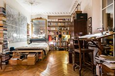 The quintessential Parisian apartment