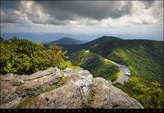 Blue Ridge Parkway - Craggy Gardens Asheville NC by Dave Allen Photography, via Flickr