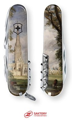 Salisbury Cathedral Swiss Army Knife: Saktory Studio Edition, by John Constable