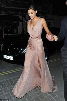 Moving on: Irina's relationship with long-term boyfriend, international footballer Cristiano Ronaldo, only ended in January 2015 after five years