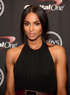 Ciara Gives Nude Makeup a Midsummer Spark