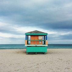 A calm moment in #Miami Beach.    Photo courtesy of shootershane on Instagram.