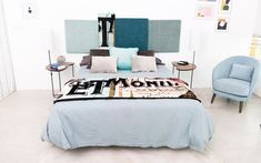 Manta MAPS Wander Edition | HomebyFama Bed, Wander, Furniture, Home Decor, Bed Throws, Bed Feet, Nice Houses, Rugs, Beds