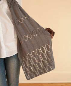 Hamiton shawl available from quince and co. Design by Megan Goodacre