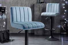 Barová stolička v modrej farbe PORTLAND BLUE. Portland, Retro Design, Blues, Chair, Furniture, Home Decor, Products, Environment, Light Blue