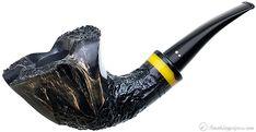 New Tobacco Pipes: Winslow Partially Rusticated Bent Dublin (E) at Smokingpipes.com