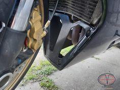 Radiator cover from Carbon Fiber for Suzuki GSX-R600 GSX-R750 (2004-2005)#carbon #carbonfibereverything #suzuki #suzukigsxr750 #gsxr750 #carbonparts #radiatorcover #carbonradiatorcover #carbonundercowling Suzuki Gsx R 750, Gsxr 750, Radiator Cover, Radiators, Carbon Fiber, Carbon Fiber Spoiler