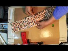 ▶ How to Make Large Paper Rosette with Martha Stewart Score Board - YouTube