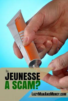 Is Jeunesse A Scam? - Lazy Man and Money http://www.lazymanandmoney.com/jeunesse-scam/