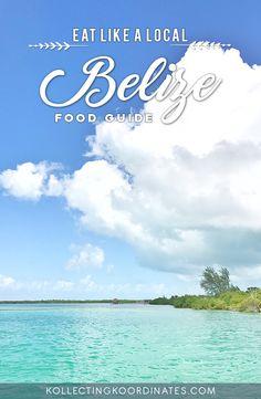Kollecting Koordinates - Things to eat in Belize