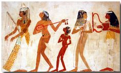 Women in Ancient Egyptian Art 009 | Facsimile-series of anci… | Flickr - Photo Sharing!