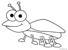 bug coloring pages - Insect Coloring Pages