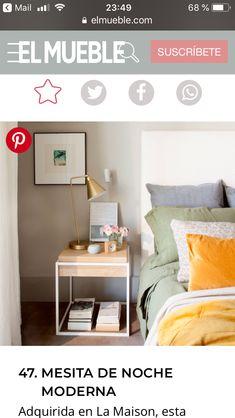 Floating Nightstand, Table, Furniture, Home Decor, Modern Bedside Table, Bedside Tables, Floors, Trendy Tree, Floating Headboard