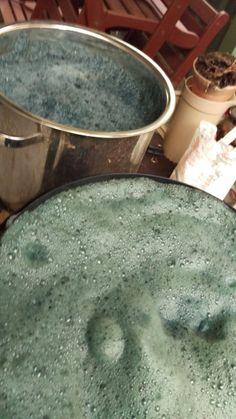 Fresh woad extractioni