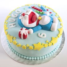 Doraemon Cake (I love this blog).