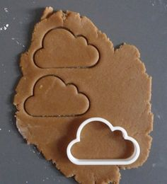 Cloud cookie cutter / Printmeneer on etsy