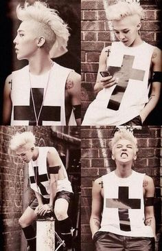 """G dragon Come visit kpopcity.net for the largest discount fashion store in the world!! Pic from GD's music video for his song """"Crooked""""."""