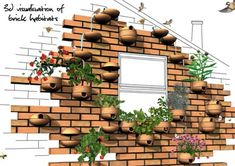 Sustaining Urban Ecosystems With Modular Brick Habitats