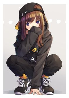 Safebooru is a anime and manga picture search engine, images are being updated hourly. Girl Cartoon, Dark Anime, Cartoon Girl Drawing, Female Anime, Anime Character Drawing, Anime Chibi