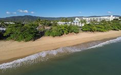 No wind or rain or flooding here? Just sunshine, plenty of warm golden sunshine. If that's what you want, just click here to come and get it www.trinitybeachfront.com.au #trinitybeach #cairns