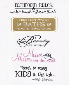 whatever you say splish splashbathroom sayings - Bathroom Sayings