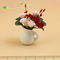 Find More Furniture Toys Information about G05 X108 children baby gift Toy 1:12 Dollhouse mini Furniture Miniature baby mini red pink flower  1pcs,High Quality gift medal,China gifts for 4 year olds Suppliers, Cheap gift cards for boys from Stefan  Qiu's store on Aliexpress.com