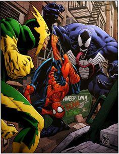 Spidey vs Electro & Venom - Paulo Siqueira