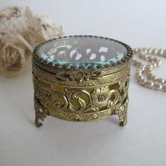 Gold Jewelry Casket