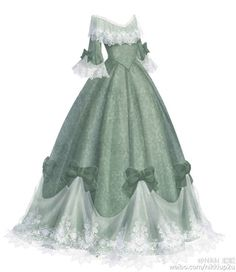Pretty and elegant Dress Drawing, Drawing Clothes, Vestidos Anime, Pretty Dresses, Beautiful Dresses, Anime Dress, Fantasy Dress, Medieval Dress, Anime Outfits