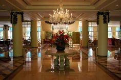 Decoración lujosa, sofisticada y de estilo europeo.