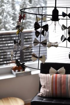 Lampskärm Wind Chimes, Outdoor Decor, Earrings, Diy, Home Decor, Ear Rings, Stud Earrings, Decoration Home, Bricolage