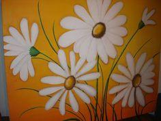 Cuadro pintado con acrílicos sobre placa entelada