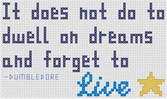 harry potter cross stitch patterns free | Here is a link to the free PDF